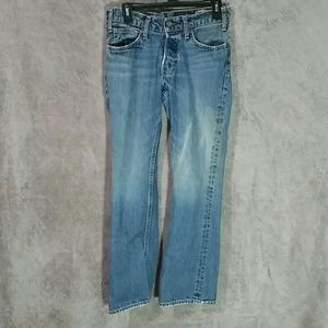 Hollister slim straight boot cut jeans